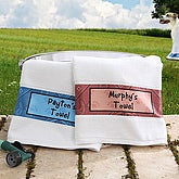 Personalized Dog Towels - Pampered Pet - 6560