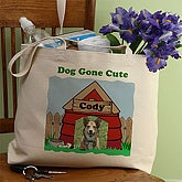 Dog Gone Cute© Photo Tote Bag