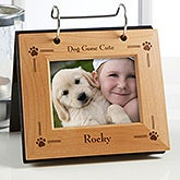 Pet Cat or Dog Personalized Flip Photo Album - 6576