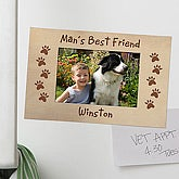 Favorite Pet Personalized Magnet Picture Frame - 6577