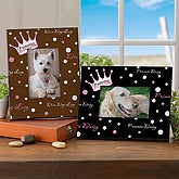 Princess Personalized Pet Name Picture Frame - 6578