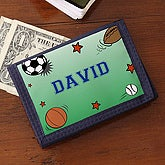 Boys Personalized Sports Wallet - 6611