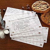 Happy Household Personalized Recipe Cards - 6644