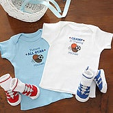 All Star Sports Personalized Baby Clothes Set for Boys - 6680