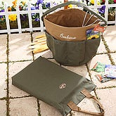 Personalized Garden Tools Bag & Kneeling Pad - 6686