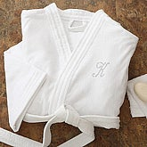 Personalized Spa Robe for Women with Rhinestone Monogram - 6694