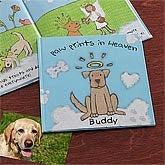 Paw Prints In Heaven© Memorial Pet Book