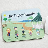 Character Collection© Personalized Mouse Pad