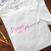 Personalized Flower Girl Clothing - 6721