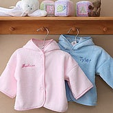 Personalized Fleece Baby Jacket - 6725