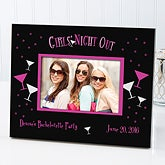 Bachelorette Party Personalized Picture Frames - Girls' Night Out - 6731