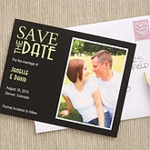 Photo Save The Date Wedding Cards & Magnets - 6737