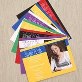 Personalized Photo Graduation Invitations - Academic Adventure - 6763