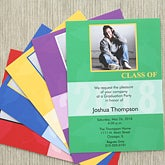 Personalized Graduation Announcement Invitations - Destiny Achieved - 6764