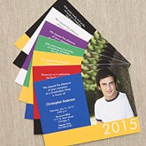 Custom Photo Graduation Invitations - Honor The Graduate - 6765