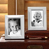 personalized silver picture frames engraved names on wallet size photo frames 6831