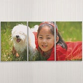 Split Panel Photo Canvas Art - 3 Panels - 6878