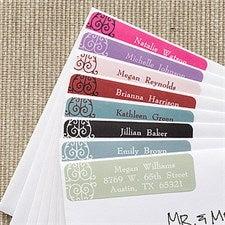 Personalized Address Labels - Oh La La Paris - 6910