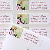 Personalized Return Address Labels - Paisley - 6921
