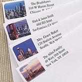 Cityscape© Return Address Labels