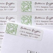 Celtic Knot Personalized Return Address Labels - 6936
