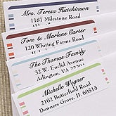 Simple Stripes© Return Address Labels