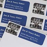 Indigo Greetings© Photo Return Address Labels