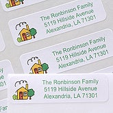 Our House© Return Address Labels