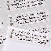 Topiary© Return Address Labels