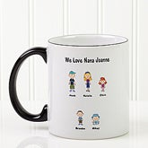 Character Collection© Personalized Coffee Mug