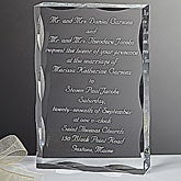 Personalized Wedding Invitation Keepsake Gift - 7009