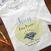 Personalized Ring Bearer Shirts and Hats - 7020