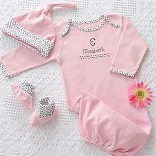 Personalized Baby Clothes Gift Set - Newborn Girl - 7064 22def384fb16