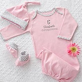 Personalized Baby Clothes Gift Set - Newborn Girl - 7064