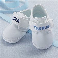Personalized Oxford Baby Boy Shoes - 7071