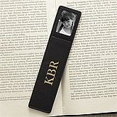 Personalized Leather Photo Bookmarks - 7126