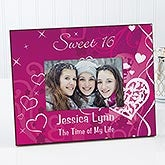 Sweet Sixteen Personalized Birthday Picture Frames - 7136