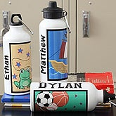 Personalized Water Bottles for Boys with Kids Designs - 7156