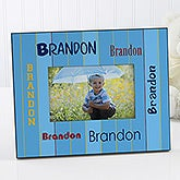 Boys Personalized Picture Frames - That's My Name - 7169