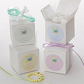 Personalized Baby Shower Favor Boxes - Baby Carriage - 7228