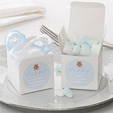Personalized Baby Shower Party Favor Boxes - It's A Boy - 7230
