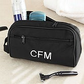 Men's Personalized Travel Case with Monogram - 7289