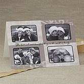 Personalized Photo Christmas Cards - Four Picture Collage - 7302