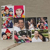 Personalized Photo Collage Holiday Greeting Cards - Horizontal