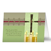 Personalized Christian Christmas Cards - Peace Be With You - 7308