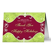 Holiday Thanks© Cards & Envelopes
