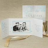 Snowflakes© Gatefold Photo Cards & Envelopes