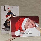 Personalized Photo Christmas Cards - Horizontal Layout