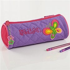 Butterfly Personalized Girls Pencil Case - 7350