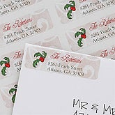 Holiday Season Personalized Return Address Labels - 7399
